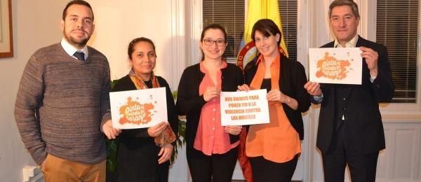 El Consulado de Colombia en Estocolmo se une a la conmemoración del Día Internacional de la Eliminación de la Violencia Contra las Mujeres