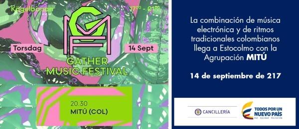 La combinación de música electrónica y de ritmos tradicionales colombianos llega a Estocolmo con la Agrupación MITÚ